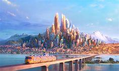 Trailer # 2 do fime Zootopia, do Walt Disney Animation Studio Zootopia 2016, Zootopia Art, Studio Disney, Shanghai Disney Resort, Disney Wiki, Disney Films, Walt Disney Animation Studios, Film D'animation, Disney And More