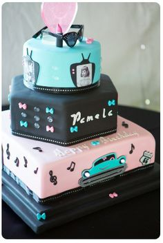 A 50′s Style Birthday Party | Party Theme Ideas  Photos by Mallory Miya Photography