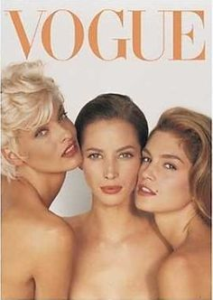 gemamotion:  Vogue cover - June 1991 #vintage #editorials #fashion