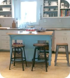 ... Unfinished Furniture Called Bare Wood In Maryland. Giving The Kitchen  Island A Makeoveru2026and A Good Decorating Lesson