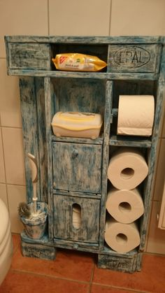 Recycelten Palettenmöbel Toilettenpapierhalter Aus Europaletten 100%  Massivholz | DIY | Pinterest | Pallets, Pallet Projects And Woods