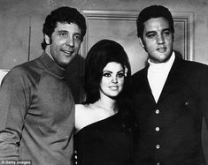 Not cricket? Sir Tom Jones, 76, has just admitted he does not think Elvis would have 'been too sure' about him taking Elvis' ex wife, Naked Gun star Priscilla, out for dinner