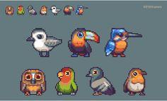 (2) 트위터의 #pixelart 해시태그