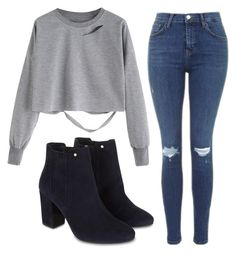 """""""#96"""" by iamariot7 ❤ liked on Polyvore featuring Monsoon and Topshop"""