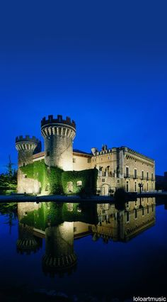 Castillo de Perelada, Peralada, Girona, Spain