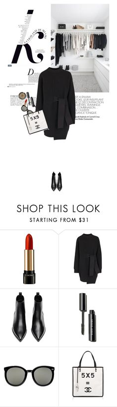 """""""one late evening"""" by riennise ❤ liked on Polyvore featuring Anja, KAROLINA, Lancôme, Proenza Schouler, Acne Studios, Karen Walker and Topshop"""