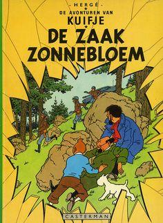 Een strip van kuifje. De avonturen van Kuifje in Congo heb ik al wel.