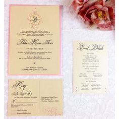 Dulce our new invitation features ivory metallic paper, and Swarovski crystals. Perfectly design for a modern princess. #sweet #sweet16 #partyplanning #invitation #elegant #classy #vintage #romantic #rose #copdwedding #eventplanning
