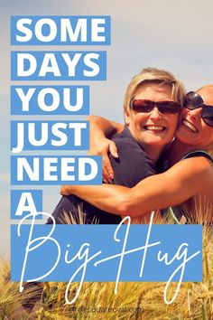 Hugs: so simple yet so powerful.  Learn all about types of hugs and the secret benefits of each.
