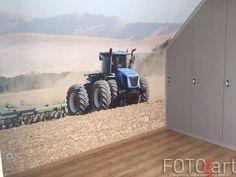 Fototapete kinderzimmer traktor  Realisierung: Fototapete Traktor | Kinderzimmer und Einrichtungen ...
