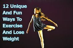 Exercising makes losing weight a tiny bit easier. When you exercise, you burn calories. If you burn more calories than your body needs to sustain itself, you'll lose weight.  The problem is, exercise can be boring and finding the motivation is difficult. Lucky for you, we've compiled a list of 12 unique and fun ways to exercise that can help you lose weight. http://fitness-mojo.net/12-unique-and-fun-ways-to-exercise-and-lose-weight/