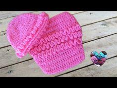 Ensemble cache couche bonnet wiggly crochet - YouTube