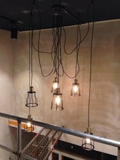 Edison Cage ceiling lamp  hanging lamp  E27 by LightwithShade