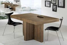Mesa pequeña muy extensible -