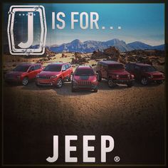 J is for #jeep