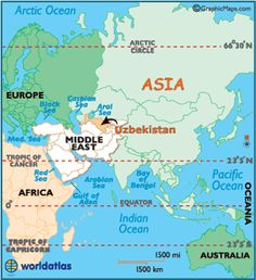 Map of east asia the countries are china russia japan north uzbekistan large color map gumiabroncs Choice Image