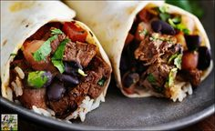 What do you like on your carne asada burritos? They're so easy to make when you use the Best Carne Asada Marinade Ever!