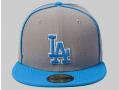 LA Dodgers 59Fifty Fitted Baseball Cap By New Era x MLB