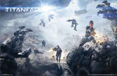 View an image titled 'Game Informer Cover Art' in our Titanfall art gallery featuring official character designs, concept art, and promo pictures.