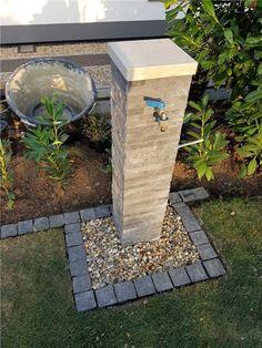 Garden Sink, Garden Planters, Backyard Projects, Garden Projects, Garden Ideas, Back Gardens, Outdoor Gardens, Diy Garden Fountains, Hydrangea Care