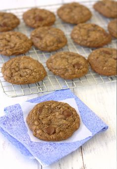 I've been on a bit of an oatmeal kick lately. We have oatmeal for breakfast most mornings, and I've made homemade granola, oatmeal muffins (recipe to come soon!), and oatmeal cookies. Then, I decided to make oatmeal chocolate chip cookies, but with some cocoa powder added in to make them Cocoa Oatmeal Chocolate Chip Cookies. …