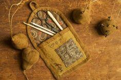 Primitives Past    sewing kit idea
