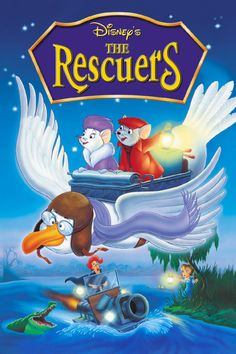The Rescuers Movie Poster -