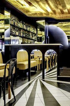 """Les Cloches"" restaurant by José Levy"