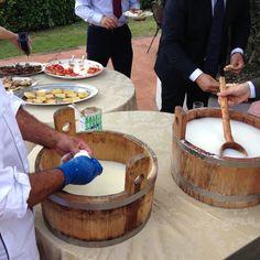 Fresh mozzarella fiordilatte!
