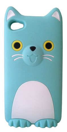Minty Kitty iPhone Case
