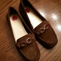 New Coach Brown Suede Loafers,  6 new, never used. I can't find the box. Coach Shoes Flats & Loafers
