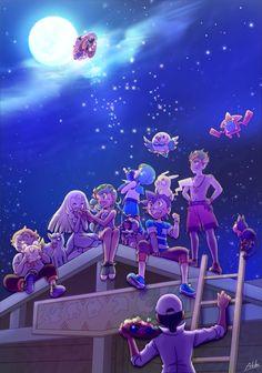 Pokemon sun and moon anime Ash Pokemon, Pokemon People, Pokemon Comics, Pokemon Fan Art, Pokemon Mallow, Pokemon Moon And Sun, Cute Pokemon Wallpaper, Mundo Comic, Cute Pikachu
