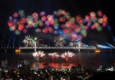 Busan Int'l Fireworks Festival to Light up the Night Oct 26
