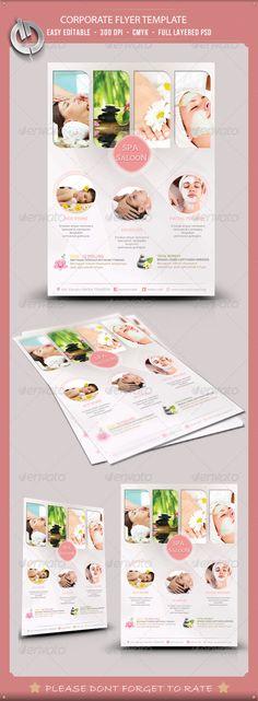 Beauty & Spa Flyer Template