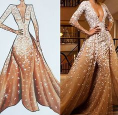 Everything thing in this dress is just gorgeous!!