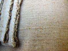 Thick Natural Raw SilkFabric Handmade by PrimitiveTribalCraft
