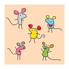 cute rats ($3.99) ❤ liked on Polyvore