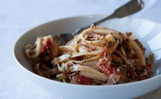 Epicure's Molto Bene Linguine Epicure Recipes, Healthy Recipes, Menu, Yummy Eats, Different Recipes, Quick Easy Meals, Pasta Dishes, Summer Recipes, Cooking