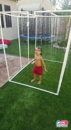 Unusual Diy Backyard Games Easy Outdoor Fun Home Ideas Backyard Games Kids, Kids Outdoor Play, Outdoor Play Areas, Backyard Play, Kids Play Area, Outdoor Fun, Desert Backyard, Outdoor Ideas, Pvc Pipe Projects