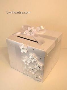 Wedding Card Box Gift Card Box Money Box by bwithustudio on Etsy, $75.00