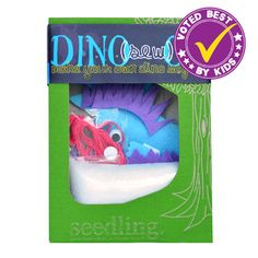 Dino-Sew-Or Little Dino Plush by Seedling.com