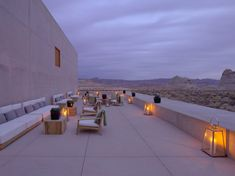 Amangiri is a Wedding Venue in Canyon Point, Utah, United States. See photos and contact Amangiri for a tour. Amangiri Hotel, Amangiri Utah, Desert Resort, Public Space Design, Modern House Design, Sun Lounger, Places To Go, Beautiful Places, United States
