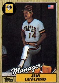 Second best manager of my lifetime. first I gotta go with Clint Baseball Manager, Baseball Playoffs, Nfl Football, Pittsburgh Pirates Baseball, Pittsburgh Sports, 1971 World Series, No Crying In Baseball, Sports Figures, Detroit Tigers