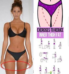 The thighs are a region that most women love to hate. And while you can't spot reduce (heard that before?), you can develop more lean muscle in a targeted area. When combined with a healthy diet and overall fat loss, these 10 leg toners can result in a lo Fitness Workouts, Fun Workouts, At Home Workouts, Fitness Tips, Daily Workouts, Fitness Motivation, Fitness Goals, Exercise Routines, Fitness Quotes
