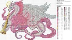Christmas Pink White Dragon by carand88