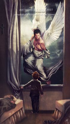 SPN:An Angel Watch Over You by =brilcrist on deviantART