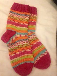 Socks for children #novita #seitsemänveljestä