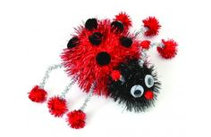 Nicole™ Crafts  Pom-pom Lady Bug
