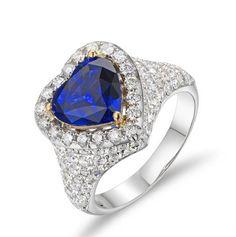 Orion Bague Tanzanite avec Diamant