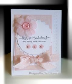 Anniversary Card by nitestamper on Etsy